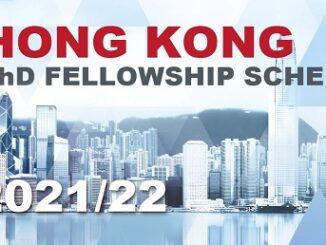 Hong Kong PhD Fellowship Scheme 2021 – Fully Funded (300 Awards)