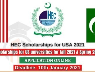 Study in USA Higher Education Commission HEC Overseas Fully Funded Scholarships