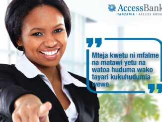 Nafasi za kazi Access Bank Tanzania (ABT) - Network and Technology Infrastructure Manager