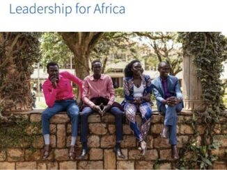 DAAD Leadership for Africa Scholarship Programme 2021/2022 for African Masters Students (Fully Funded to Germany)