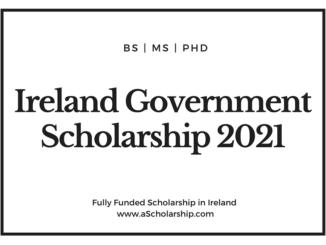 Ireland Government Scholarship 2021-2022 for international Students