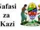 Nafasi za kazi Halmashauri ya wilaya ya kongwa October 2020