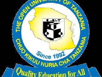 Open University of Tanzania OUT Prospectus 2020/2021