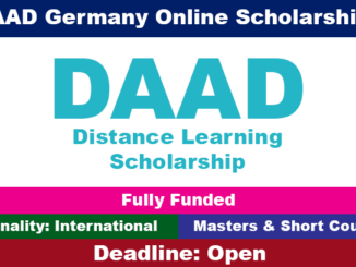 daad-distance-learning-scholarship-2020-for-international-students