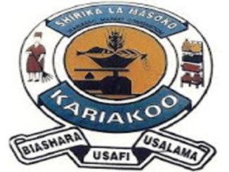Nafasi za kazi Kariakoo Markets Corporation-Security Assistant