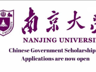 Fully-Funded Nanjing University CSC Scholarship 2021 in China