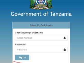 Jinsi ya kujisajiri watumishi portal salary slip 2021|Salary slip portal Registration 2021