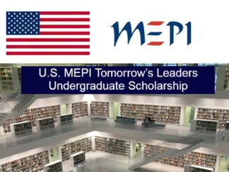The U.S. MEPI Tomorrow's Leaders Undergraduate Scholarship Program 2021