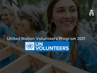 UN Volunteers Program 2021 | Fully Funded | United Nations Volunteer
