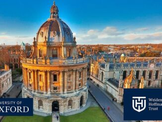 Study In UK Oxford University: The Weidenfeld-Hoffmann Scholarships and Leadership Programme