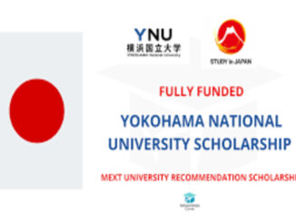Study in Japan Yokohama National University Scholarship 2021
