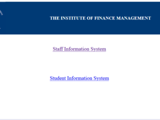 IFMSIS Login Students And Staff portal Institute of Finance Management