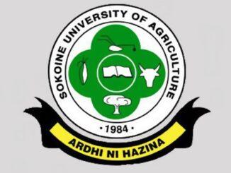 SUA e-Learning - Sokoine University of Agriculture (SUA)