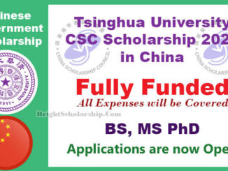 Study In China Tsinghua University CSC Scholarship 2021 (Fully Funded)