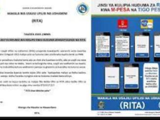 How to pay RITA online RITA E-HUDUMA   Jinsi ya kulipia Huduma za RITA
