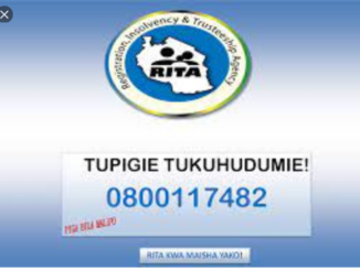RITA : Mawasiliano Namba za simu .Email.website   Matawi na Ofisi za Rita Makao makuu na mikoani