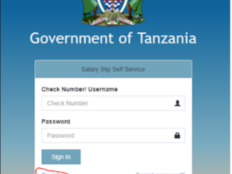 Jinsi ya Kujisajili Salary Slip portal-How to get salary slip | salaryslip.mof.go.tz download download download